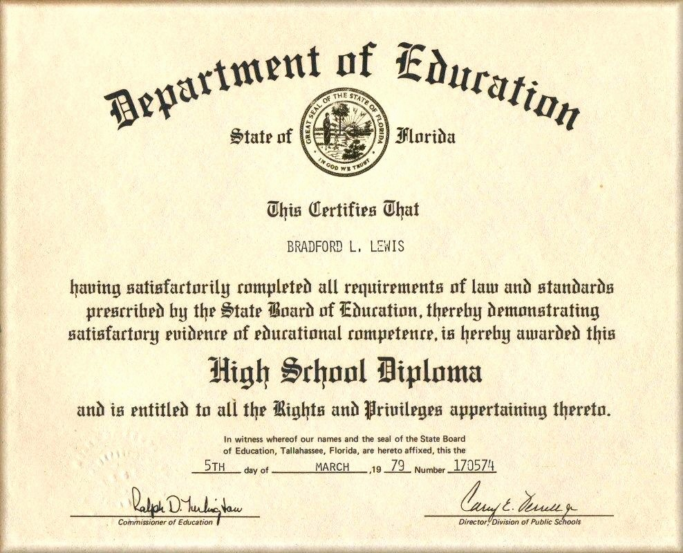 Sample Of High School Diploma Fresh Template High School Diploma Certificate Template