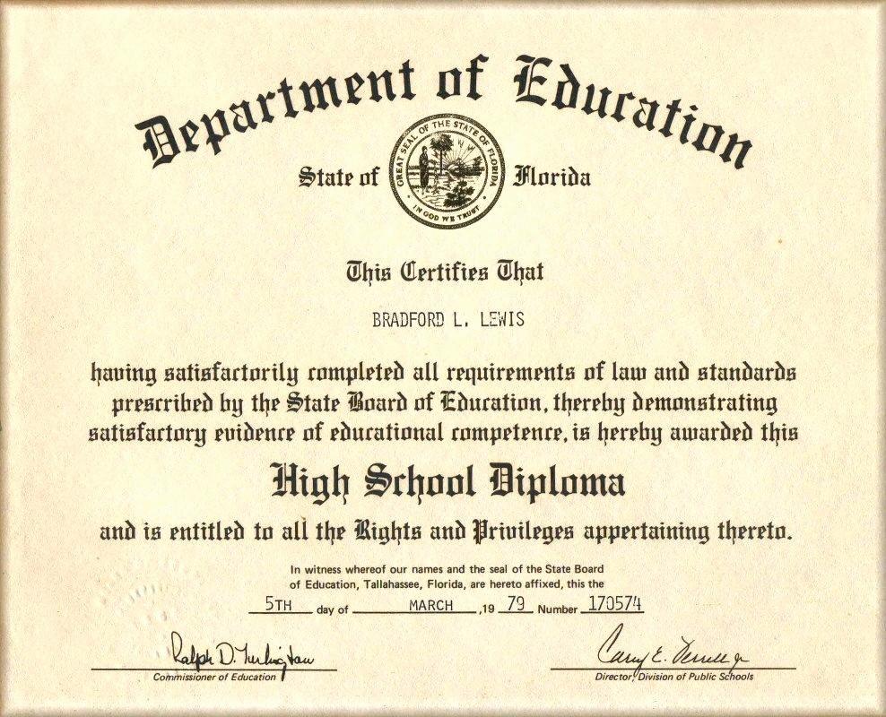 Sample Of High School Diploma Fresh Template High School Diploma Certificate Template