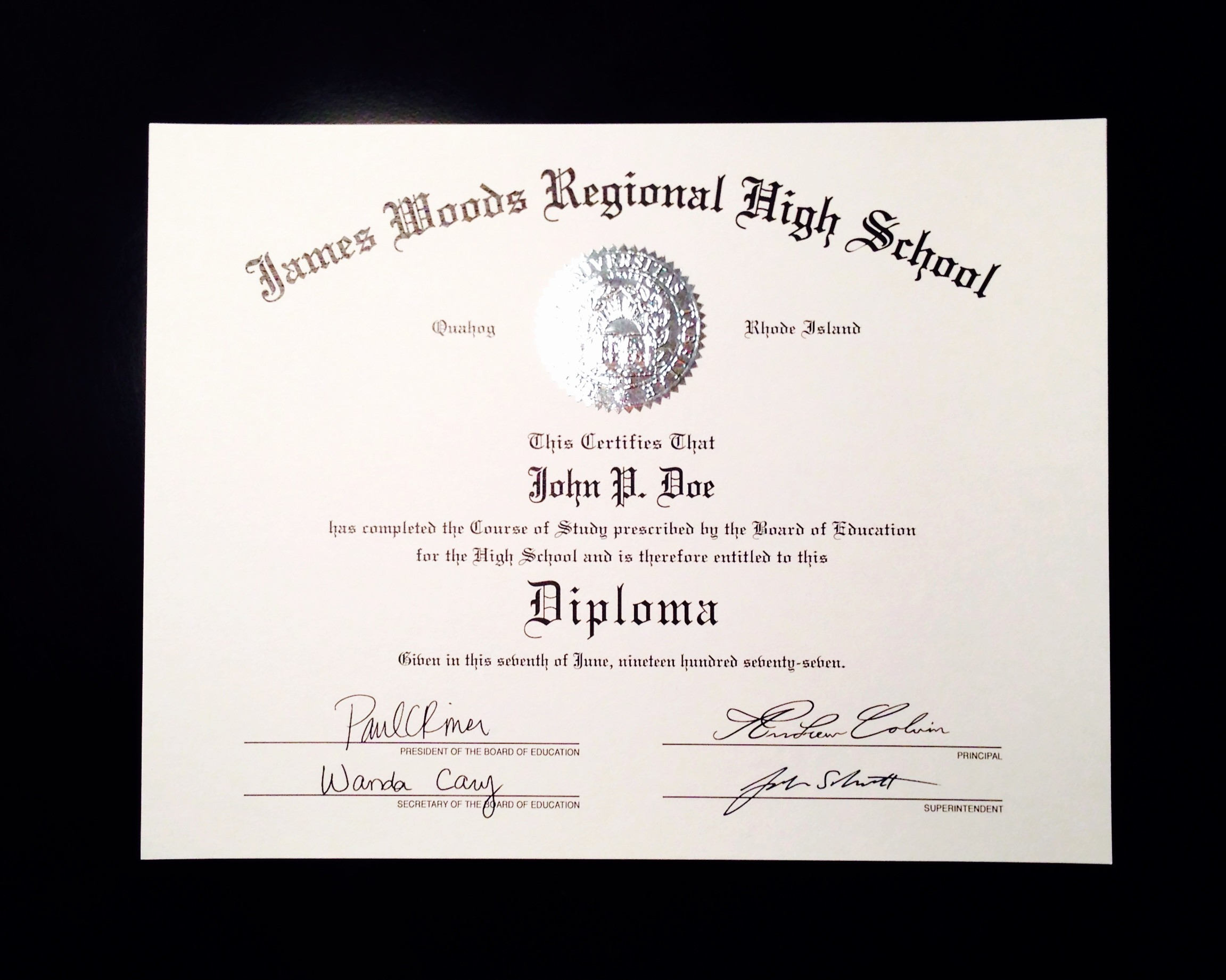 Sample Of High School Diploma Luxury Buy A Fake High School Diploma Line