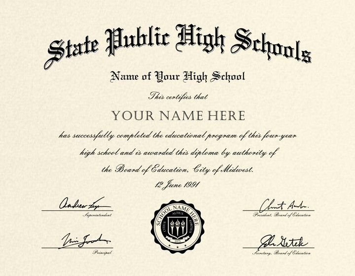 Sample Of High School Diploma New the Best Collection Of Diploma Templates for Every Purpose