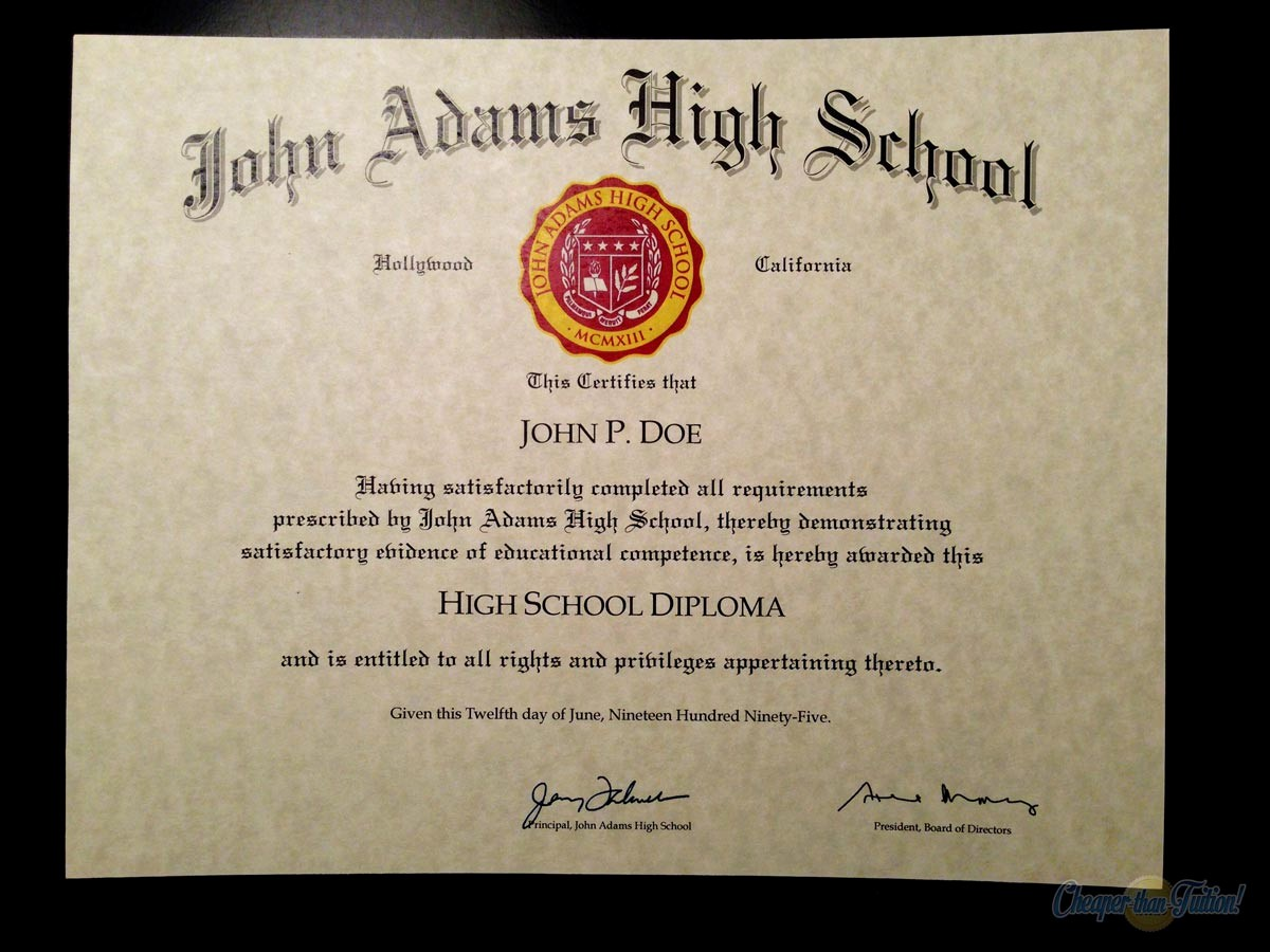 Sample Of High School Diploma Unique Buy A Fake College Diploma Line