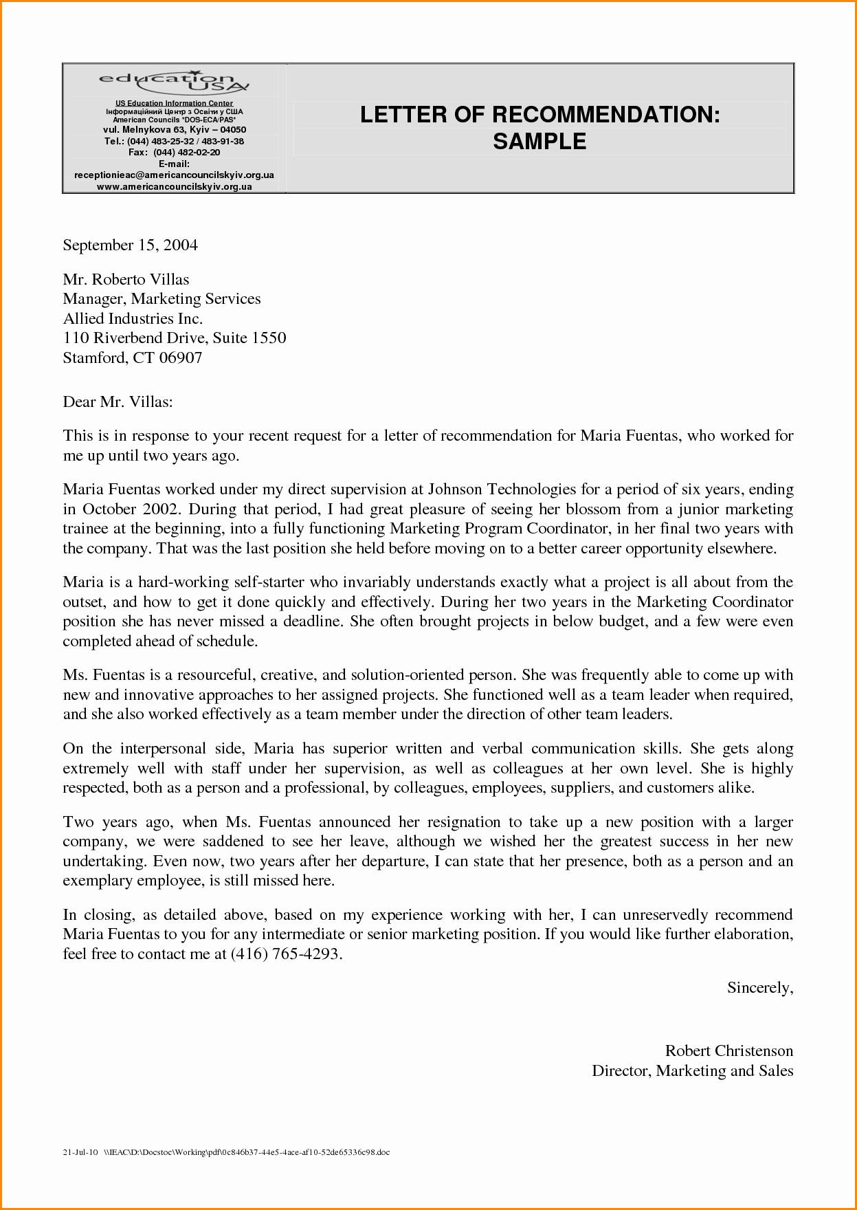 Sample Of Letter Of Reference Inspirational Corporate Letter Re Mendation Examples Oshiborifo