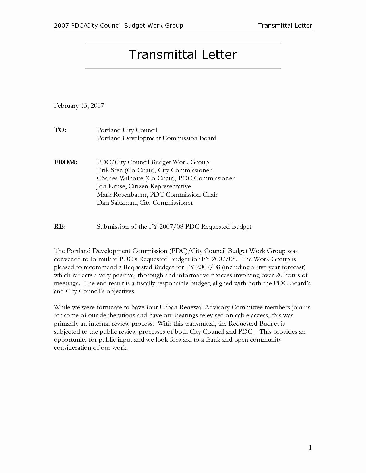 Sample Of Letter Of Transmittal Elegant Letter Transmittal Template Construction Collection