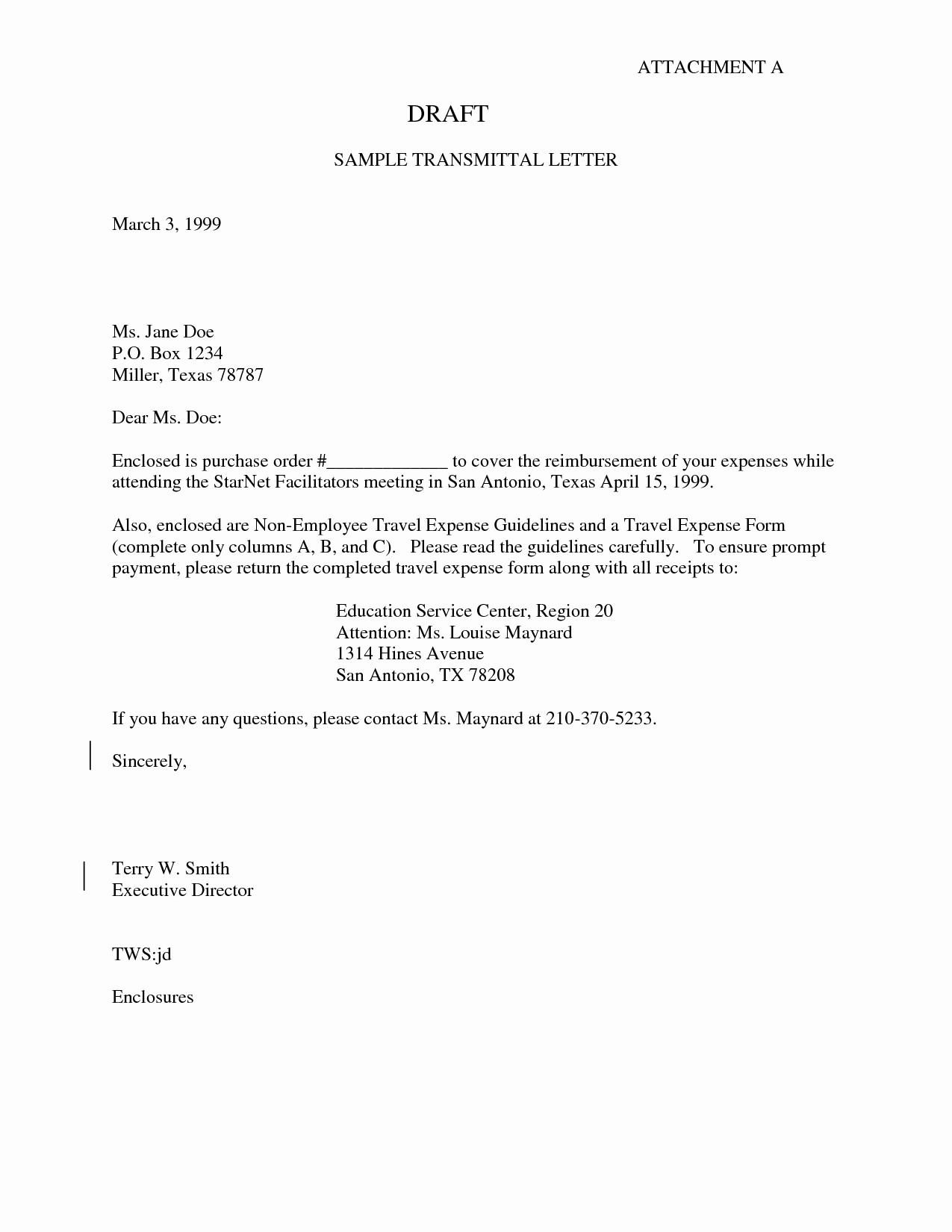Sample Of Letter Of Transmittal Fresh Transmittal Cover Letter Template Samples