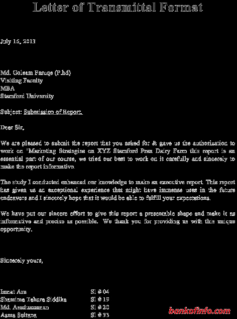 Sample Of Letter Of Transmittal Inspirational Sample Transmittal form Template Joselinohouse