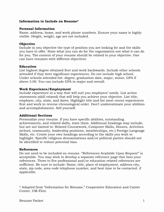 Sample Of References for Resume Awesome Reference Page for Resume