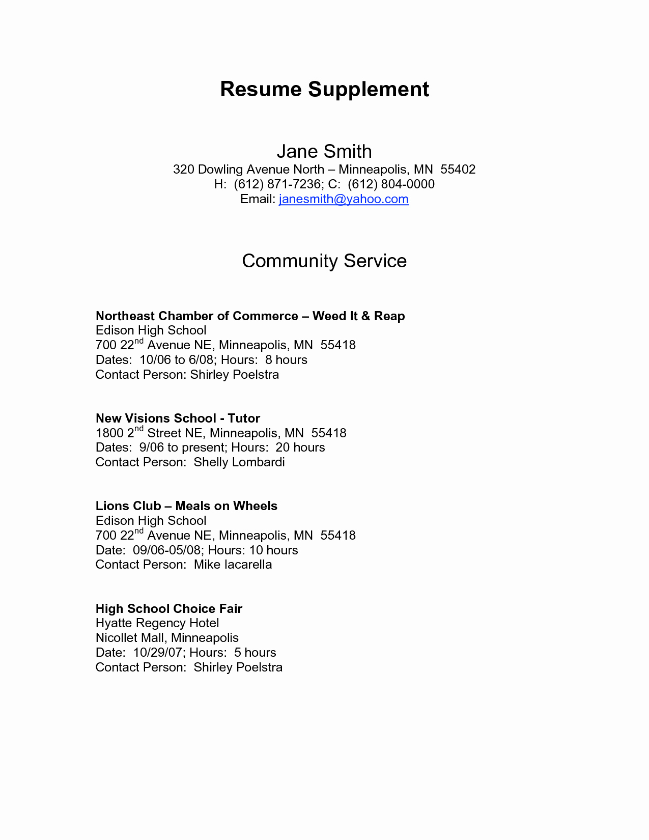Sample Of References for Resume Lovely Should Resume References Be Personal or Professional