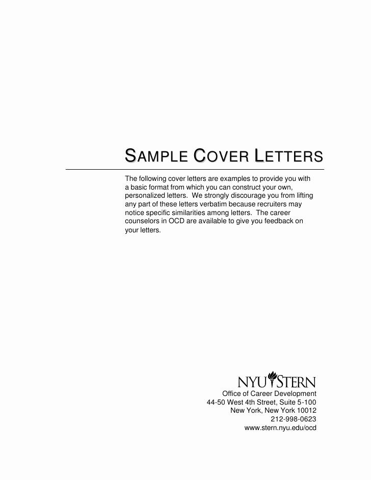 Sample Of Simple Cover Letter Lovely Cover Letter Samples