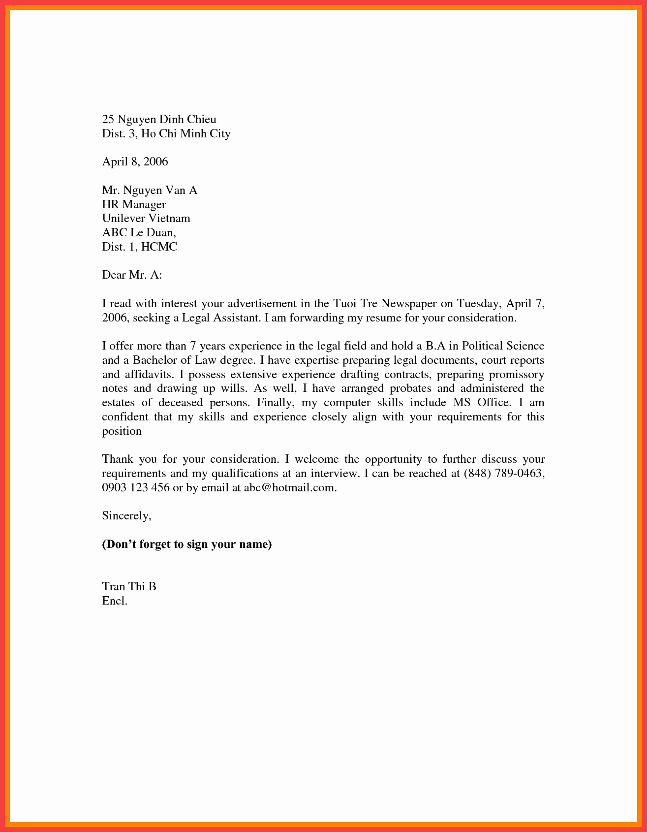 Sample Of Simple Cover Letter New Basic Cover Letter Template