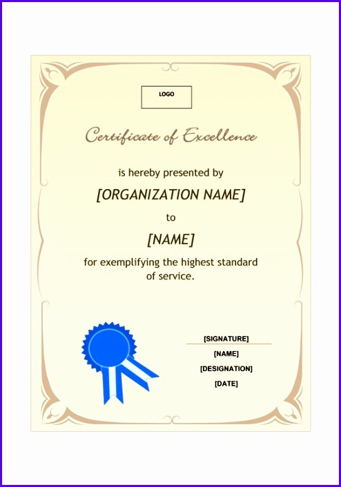 Sample P&l Report Best Of 14 Certificate Excellence Template Exceltemplates