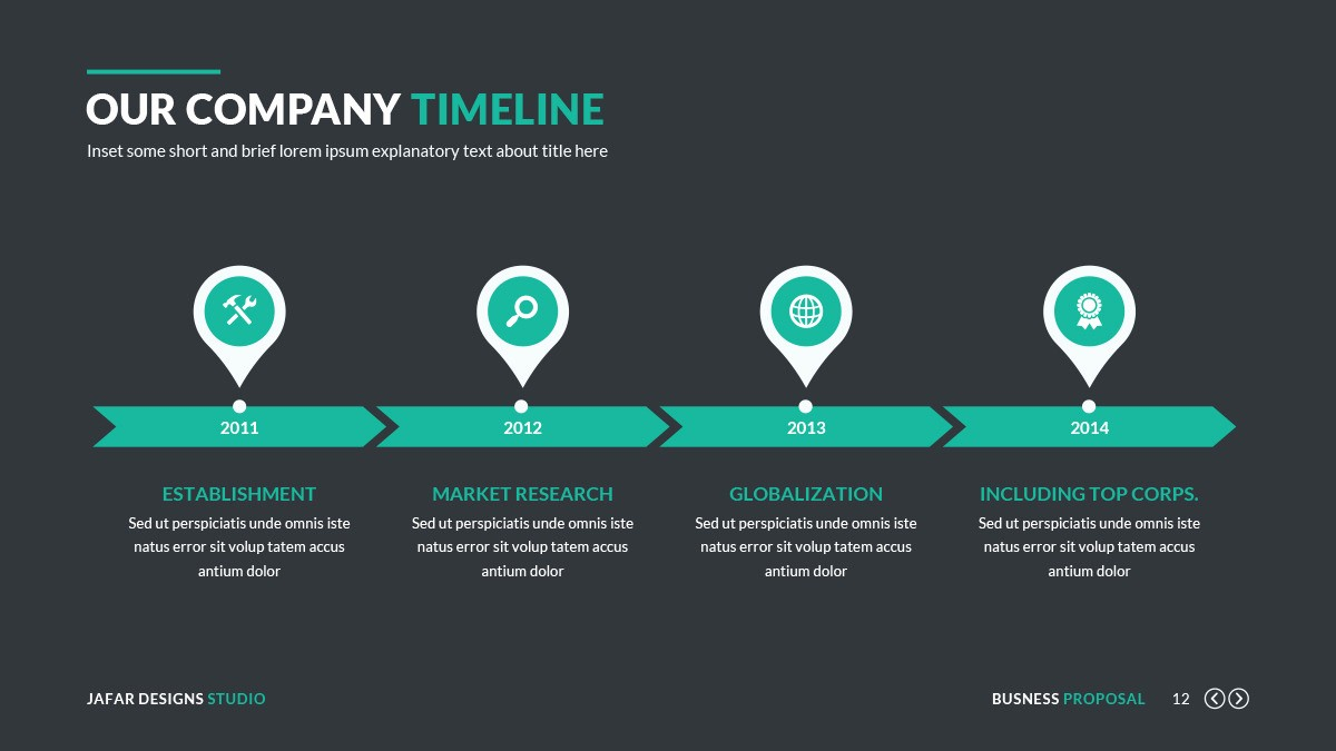 Sample Ppt for Project Presentation Beautiful Business Proposal Powerpoint Template by Jafardesigns