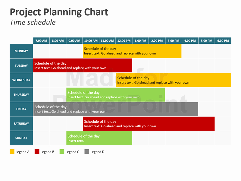 Sample Ppt for Project Presentation New Project Planning Chart Powerpoint Slides