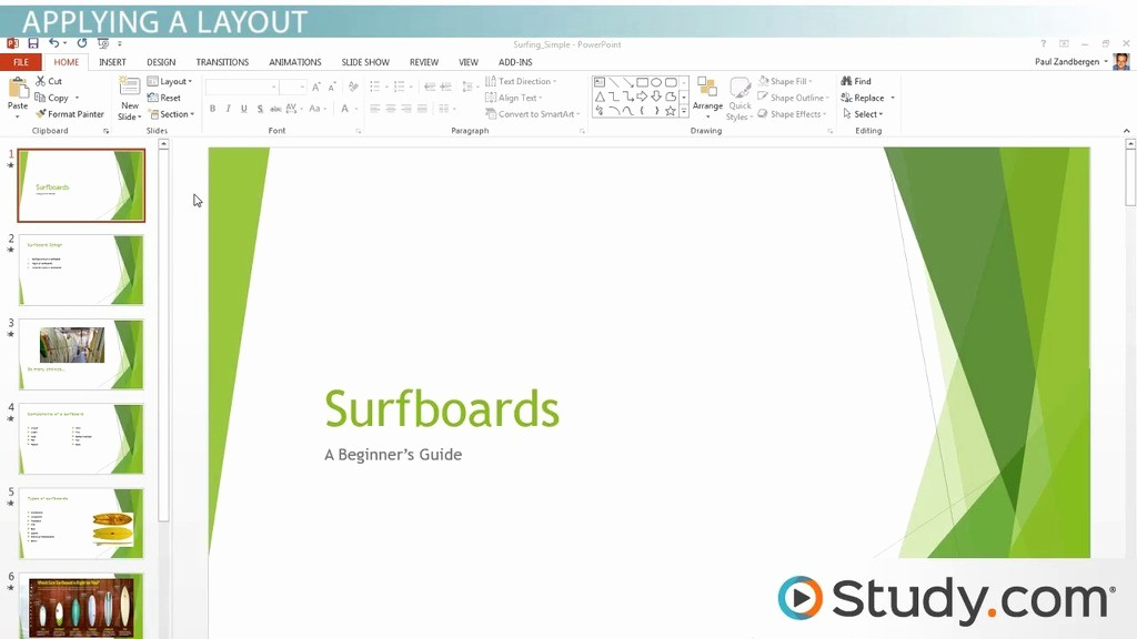 Sample Ppt for Project Presentation Unique formatting Your Powerpoint Presentation Using Slide