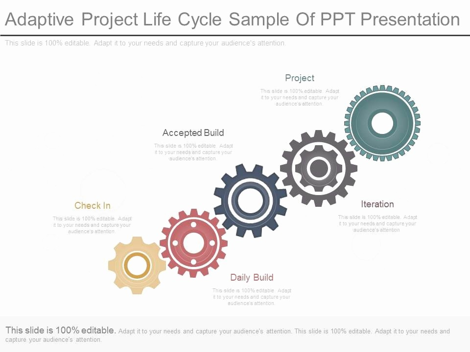 Sample Ppt for Project Presentation Unique Ppts Adaptive Project Life Cycle Sample Ppt