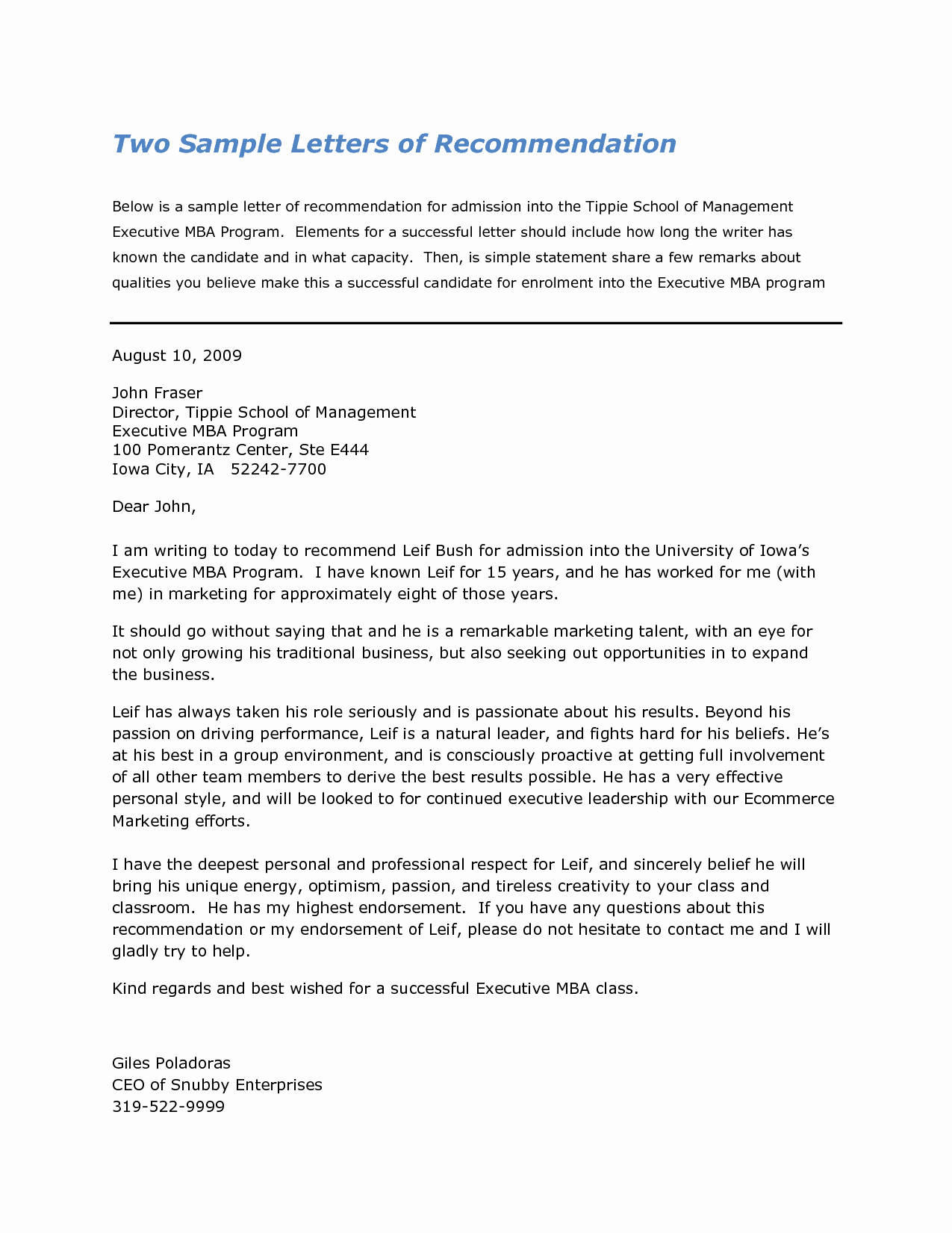 Sample Professional Letter Of Recommendation Inspirational Harvard Business School Letter Re Mendation Sample