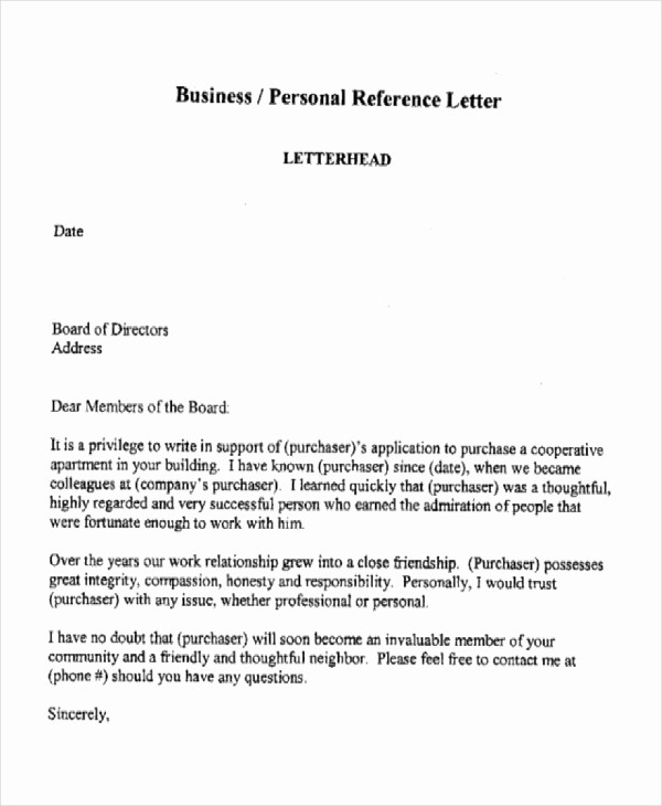 Sample Professional Letter Of Recommendation Luxury 10 Sample Business Reference Letter Templates Pdf Doc