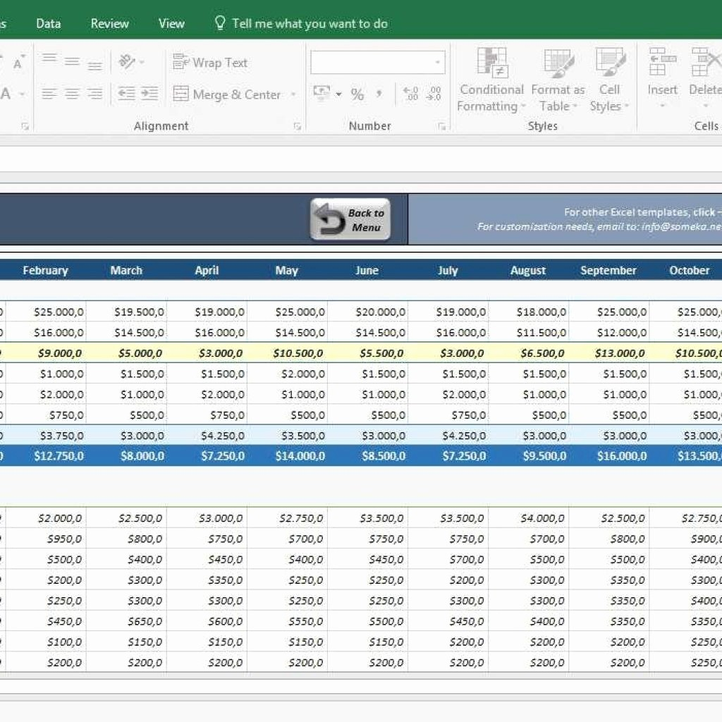 Sample Profit & Loss Statement Luxury Profit & Loss Statement for Small Business– Excel Template