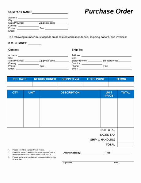 Sample Purchase order In Excel Awesome 11 Sample order form Templates Word Excel Pdf formats
