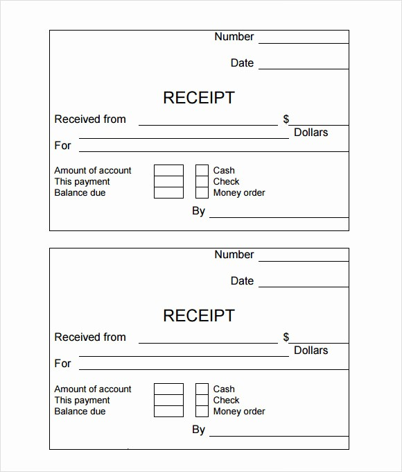 Sample Receipt Of Money Received Awesome 10 Simple Receipt Templates – Free Samples Examples