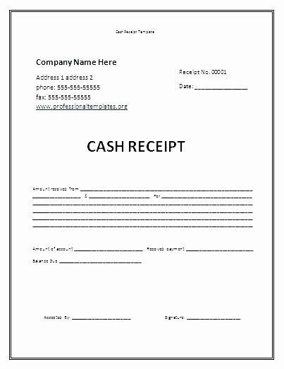 Sample Receipt Of Money Received Awesome Received Receipt Rent Received Money Received Receipt