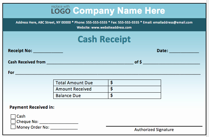 Sample Receipt Of Money Received Inspirational Cash Receipt form Examples Vatansun