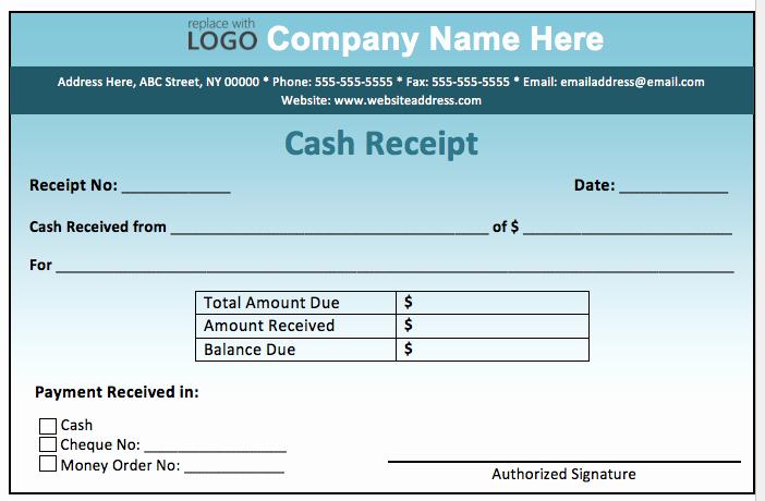 Sample Receipt Of Money Received Inspirational Cash Receipt form Examples Vatansun
