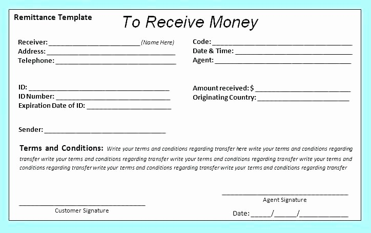Sample Receipt Of Money Received New Payment Receipt Letter Latest for Money Received Sample