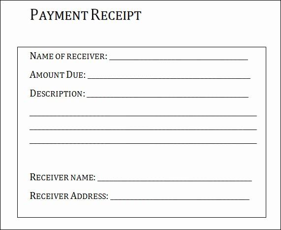Sample Receipts for Services Rendered Elegant Sample Receipt for Services Rusinfobiz