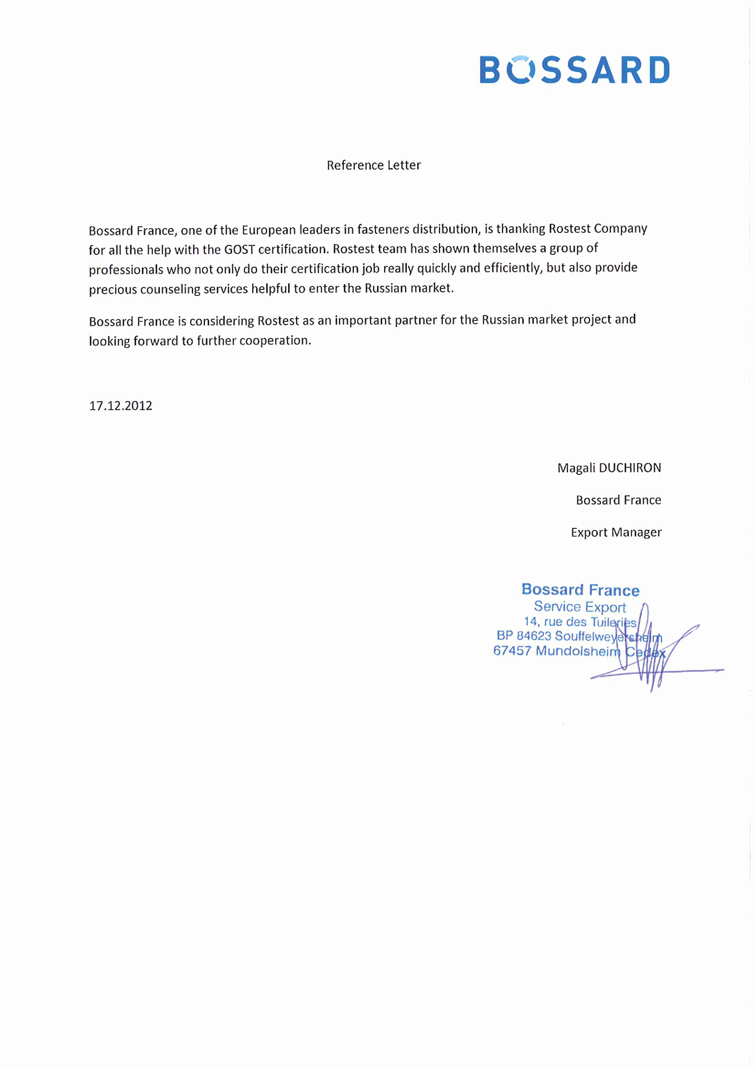 Sample Recommendation Letter for Employment New All References