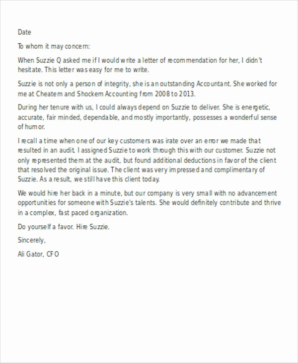 Sample Reference Letter for Employee Elegant 13 Employee Reference Letters Free Samples Examples