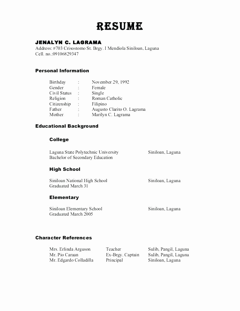 Sample Reference Sheet for Resume New Reference Sheet for Resume Samples Resume Reference Page