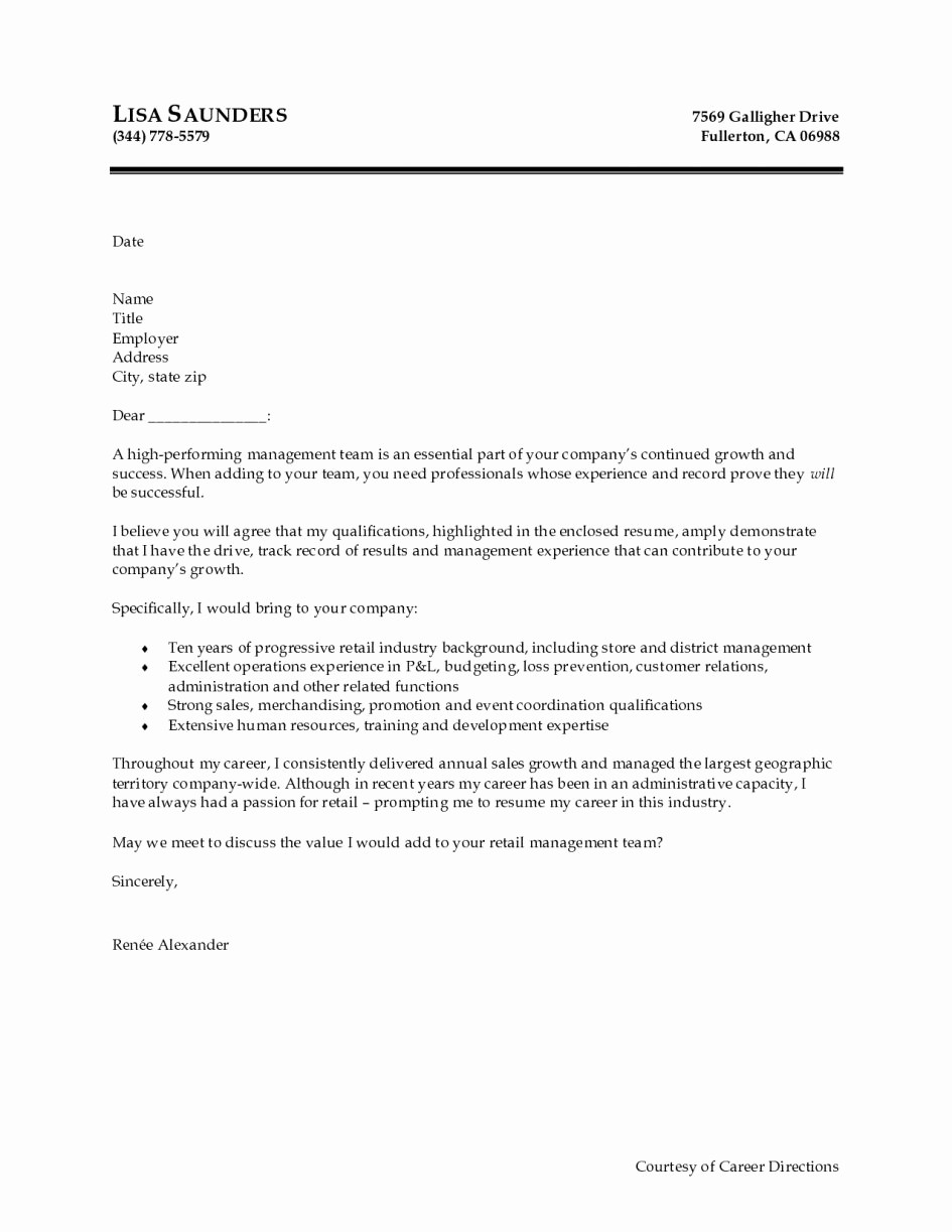Sample Resume and Cover Letter Fresh Proper Sample Cover Letters for Resumes – Letter format