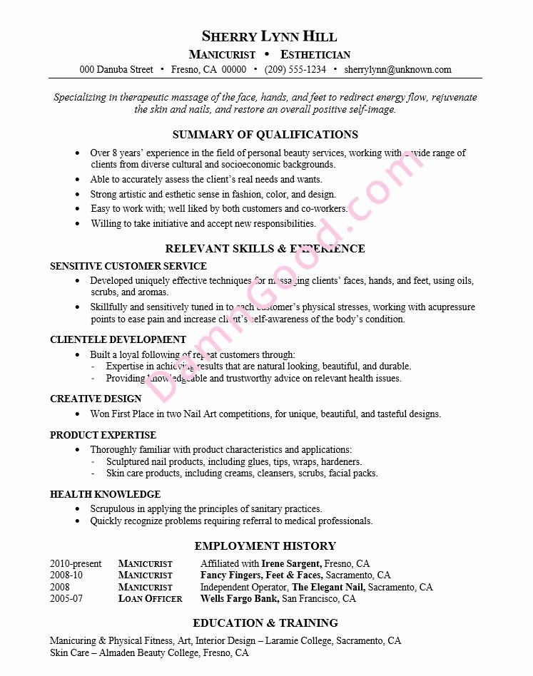 Sample Resume for College Graduate Inspirational No College Degree Resume Samples Archives Damn Good