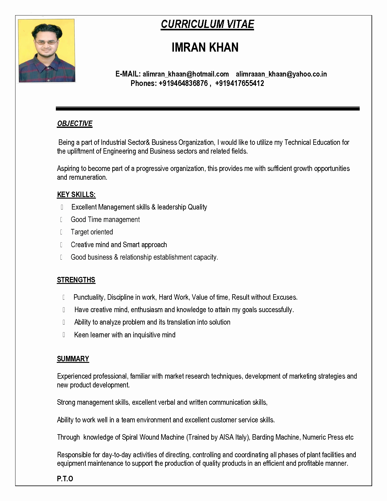 Sample Resume In Word format Inspirational Indian Resume format In Word File Free Download Bongdaao