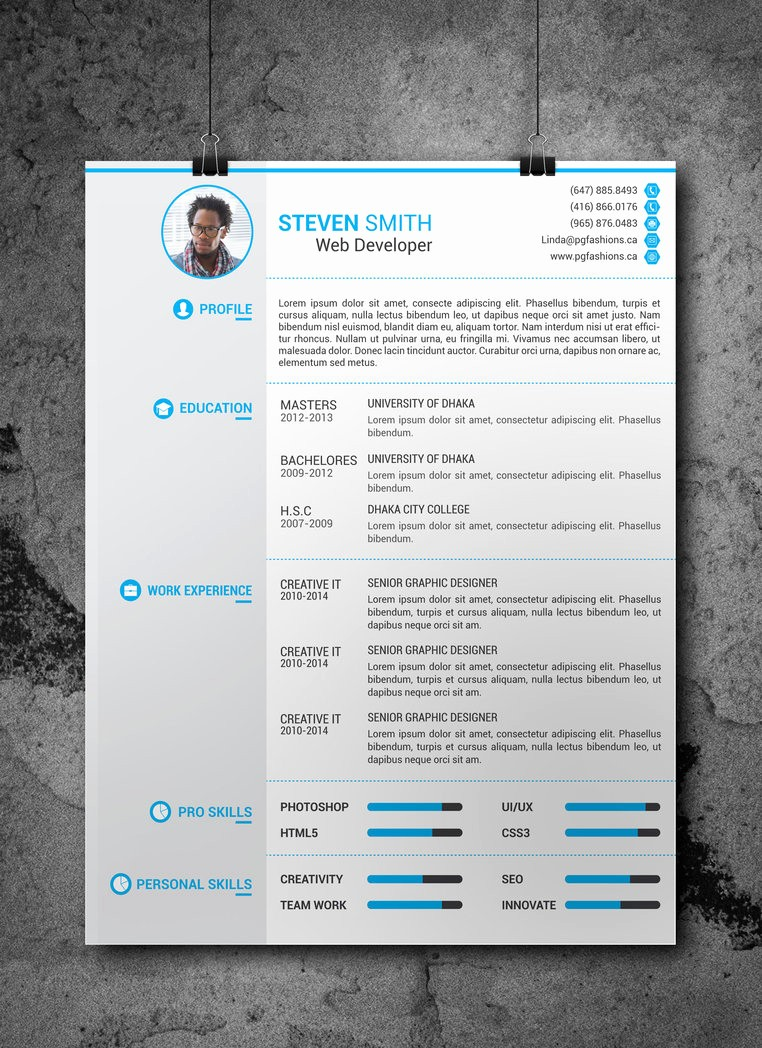 Sample Resume Templates Free Download New 25 Beautiful Free Resume Templates 2019 Dovethemes