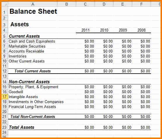 Sample Small Business Balance Sheet Awesome Sample Balance Sheet for Small Business