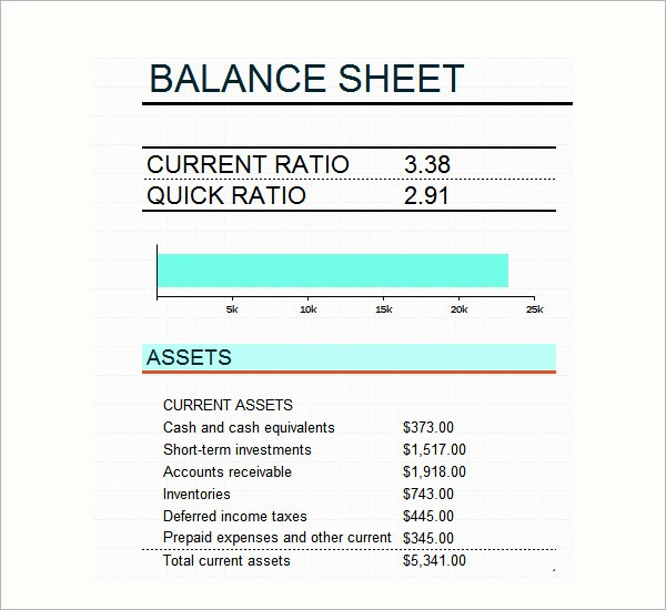 Sample Small Business Balance Sheet Inspirational 6 Sample Balance Sheets