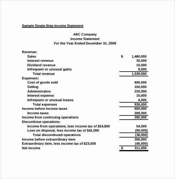 Sample Small Business Balance Sheet Lovely Sample Balance Sheet Statement Financial Position