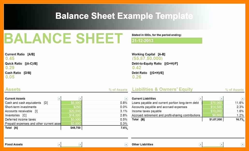 Sample Small Business Balance Sheet Luxury 11 Balance Sheet Example Small Business
