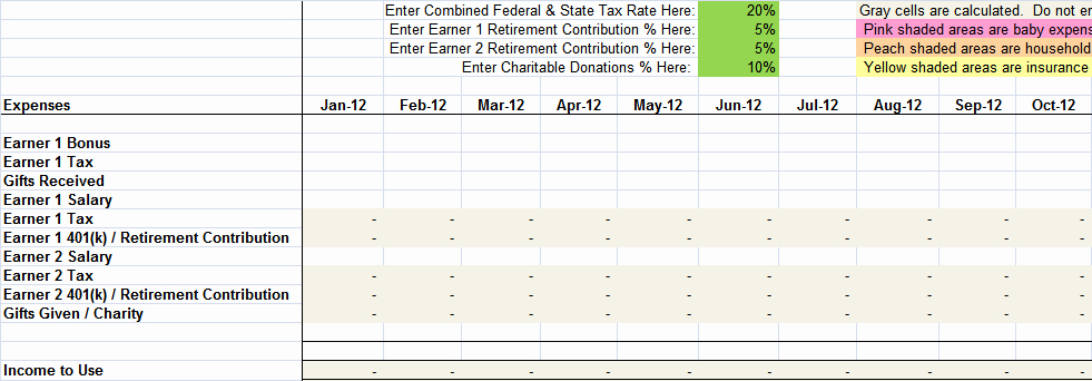 Sample Spreadsheet for Monthly Expenses Best Of Free Sample Monthly Expenses Spreadsheet
