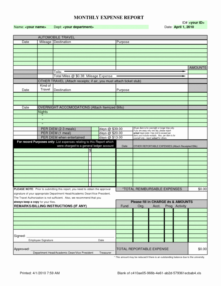Sample Spreadsheet for Monthly Expenses New Sample Spreadsheet for Monthly Expenses – Spreadsheet Template