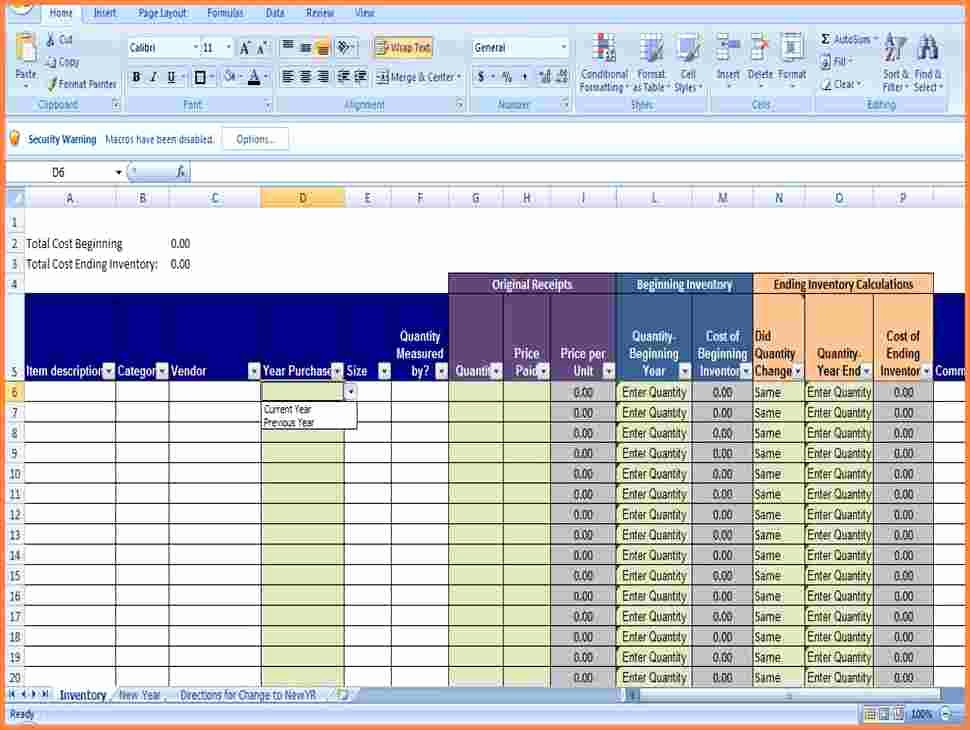 Sample Spreadsheet for Small Business Awesome 3 Small Business Inventory Spreadsheet Template