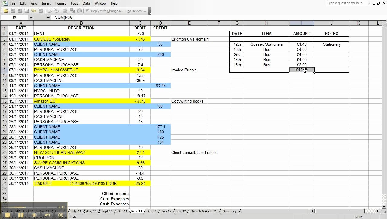 Sample Spreadsheet for Small Business Lovely Sample Business Expenses Business Expenses Template