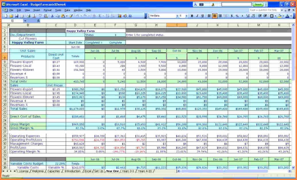 Sample Spreadsheet for Small Business New Monthly Business Expenses Spreadsheet Template