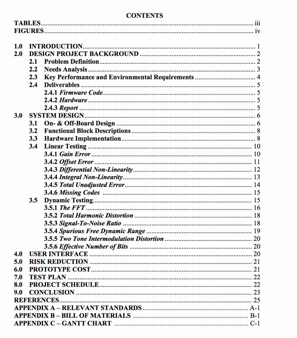 Sample Table Of Contents format Elegant formatting How Do I Change My Table Of Contents to Look