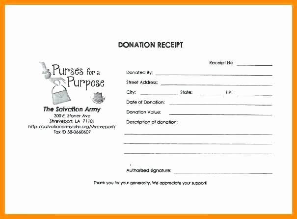 Sample Tax Deductible Donation Receipt Unique Tax Deductible Donation form Template – Onlineemilyfo