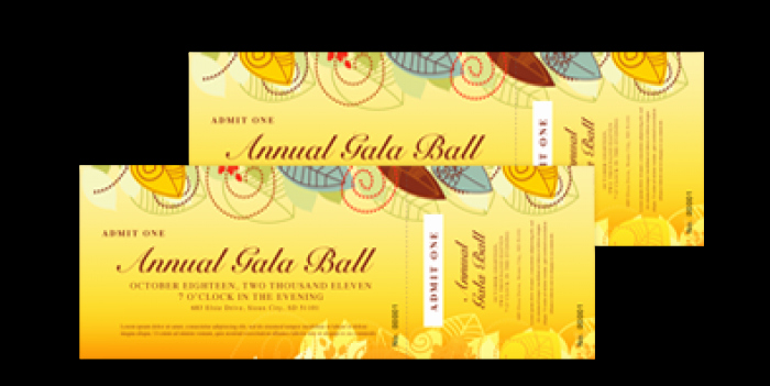 Sample Tickets for events Template Elegant 14 event Ticket Templates Excel Pdf formats