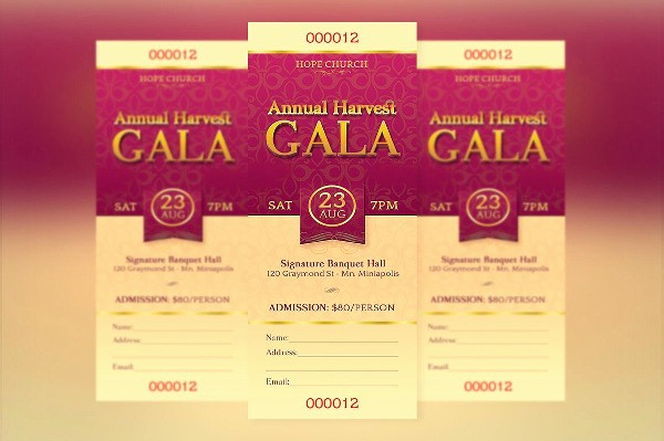 Sample Tickets for events Template Inspirational 9 Dinner Ticket Templates Psd Ai Vector Eps