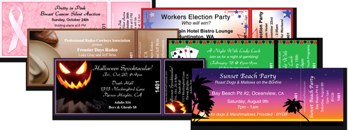 Sample Tickets for events Template Unique event Ticket Printing Samples