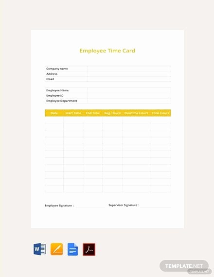 Sample Time Card for Employees Beautiful Free Time Log Template Download 308 Sheets In Word Pdf